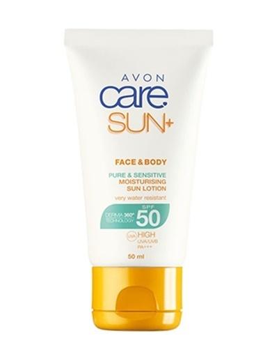 Avon Yüz ve Vücut İçin Güneş Losyonu Spf50 50 Ml Renksiz